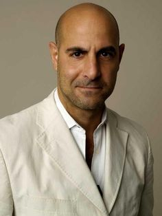 Stanley Tucci.  I love this man. He's a fabulous actor.  And he has my favorite physical attribute on a man - intense eyes.