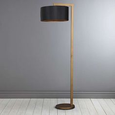 The modern floor lamps to get inspired by are here. The astounding arc floor lamp lighting designs that are capable of giving life to any home interior decor, try them in your living room layout! Large Floor Lamp, Arc Floor Lamps, Modern Floor Lamps, Cool Floor Lamps, Scandinavian Lamps, Best Desk Lamp, Industrial Floor Lamps, Industrial Interiors, Modern Industrial