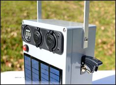 Portable, Solar 12V Battery Pack