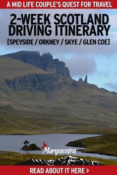 Scotland Driving Itinerary, 2-week perfect route to explore the country. Renting a car and doing a self-drive around Scotland gives you the flexibility to wander off-the-beaten-path and linger in the many unbelievable spots along the way. While on this amazing Scotland road trip itinerary we got to see many magnificent historic sites, places like the Dunnotar Castle. We even ferried over to Orkney #scotlandroadtrip #scotlanddrivingitinerary #explorescotland #discoverscotland