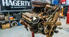 Incrível Time Lapse Mostra 10 Meses De Trabalho Para Restaurar Um Antigo Motor Chrysler Hemi Firepower