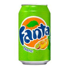 Fanta Exotic - освежающий напиток со вкусом тропических фруктов - маракуйи, персика и апельсина