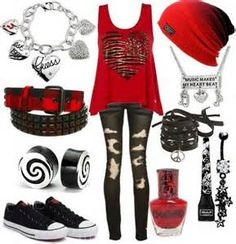 scene outfits for school - Yahoo Image Search Results