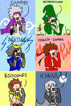 An extremely accurate summary of Sengoku Basara, lol