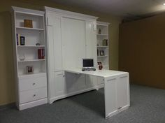 """Determine additional information on """"murphy bed ideas ikea diy"""". Have a look at our internet site. Murphy Bed Bookcase, Murphy Bed Sofa, Murphy Bed Desk, Murphy Bed Plans, Queen Murphy Bed, Modern Murphy Beds, Bed Wall, Diy Bed, Decorate Your Room"""
