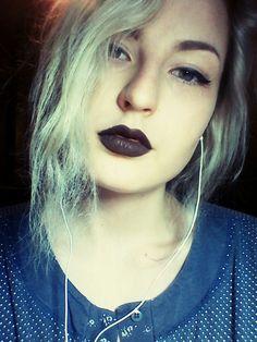 #Polishgirl#czarneusta#bladosc#bialewlosy