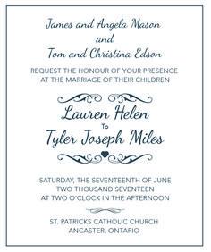 Wedding Invitation Tips & Wording Samples Wedding Tips Trends