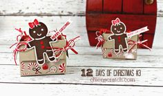 12 Days of Christmas 2016 Day 3 with Chic n Scratch, Stampin' Up! Demonstrator Angie Juda