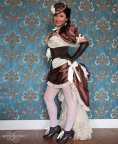 Scrumptious Steampunk Lolita Wedding Dress Ready to Ship