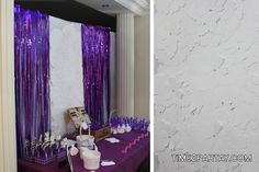 Time2partay.com: Purple and White Bridal Shower