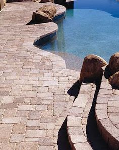 Pool Paver Ideas pool deck pavers Pool Deck Pavers Odd Sizes