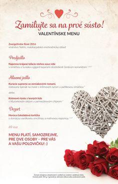 Flamender valentínske menu Menu, Personalized Items, Menu Board Design