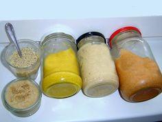 Výroba domácí hořčice - to je pro některé z nás koníček. Udělat hořčici je snadné, rychlé, málo namáhavé, levné, nenadělá se moc nádobí. A tak není divu, že se příprava hořčice stala pro nejednoho labužníka oblíbenou činností. Domácí hořčici uděláme podle svého gusta – s kurkumou, česnekovou nebo kremžskou?