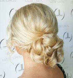 Wedding Hairstyle by Lizzie Liros