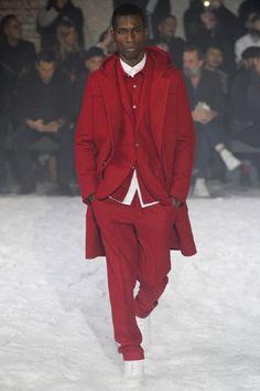 MONOCHROMATIC Sfilata Ami Milano Moda Uomo Autunno Inverno 2014-15 - Vogue
