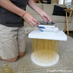 How Strong is Spaghetti? STEM Challenge for Kids How Strong is Spaghetti? STEM Challenge for Kids! – Frugal Fun For Boys and Girls How Strong is Spaghetti? STEM Challenge for Kids! – Frugal Fun For Boys and Girls Cool Science Experiments, Stem Science, Science Fair, Science For Kids, Forensic Science, Physical Science, Earth Science, Stem Projects, Science Projects
