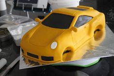 Celebrate with Cake!: Porsche Car Cake