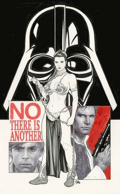 Unpublished Star Wars #1 Variant Cover by Frank Cho