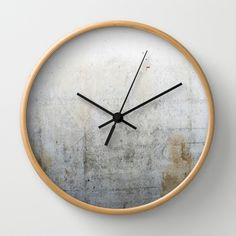 Concrete Style Texture Wall Clock by cafelab - $30.00