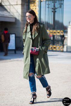 Zina Charkoplia Street Style Street Fashion Streetsnaps by STYLEDUMONDE Street Style Fashion Photography
