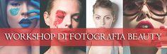 Un Workshop interamente dedicato alla Fotografia Beauty che vi permetterà di carpirne i segreti e di sperimentare i principali schemi luce.