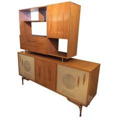 Unique Danish Modern Stereo Cabinet