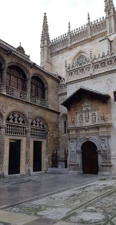 Capilla Real de Granada Granada, Barcelona Cathedral, Spain, Louvre, Building, Travel, Cordoba, Andalusia, Viajes