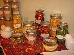 Eaba's Ideas: Dehydrating Fruits & Vegetables
