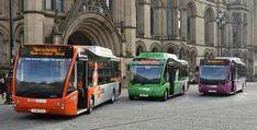 Metro shuttle bus Manchester Manchester