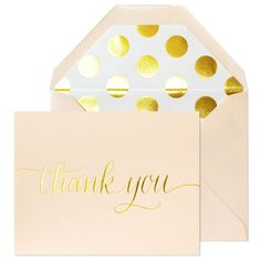 Sugar Paper Sweet Thank You Card available online with The Paper Parlour.