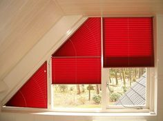 Inspirational Triangle Window Coverings