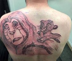 Enjoy new funny batch of really bad tattoos. These terrible tattoo fails just kinda show that if you go cheap, you go home with one of the worst tattoos money can buy. Funny Tattoos Fails, Terrible Tattoos, Tattoo Fails, 1 Tattoo, Lion Tattoo, Body Art Tattoos, New Tattoos, Cool Tattoos, Worst Tattoos