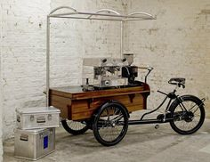super cool!! van dyck espresso bike. #espresso #bike