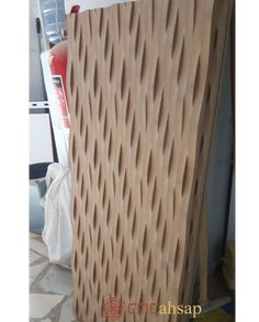 Dekoratif MDF Cnc Kesim Paneller  | Decorative MDF Cnc Cutting Panel Brick Cladding, Decorative Panels, Wave Pattern, Laundry Basket, Cnc, Wicker, Master Bedroom, Furniture, Home Decor