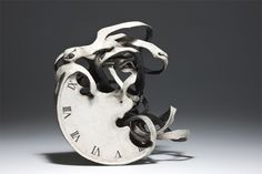 Unraveling Ceramic Sculptures are an Eloquent Reminder of Quickly Passing Time - My Modern Met