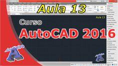 Curso de AutoCAD 2016 – Ferramentas de Auxílio ao Desenho – Aula 13 – Au... Autocad 2016, Cnc Router, Videos, Tools, Dibujo, Modern Architecture, Trendy Tree, Video Clip