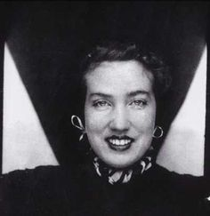 "Edith Beale ""Little Edie"" from Grey Gardens. Photo Booth 1940's"
