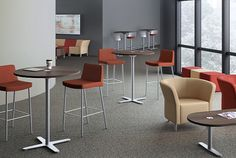 HON - Flock Chairs and Tables
