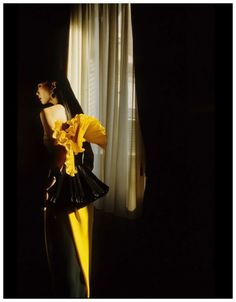 Sayoko Yamaguchi for Haute Couture Spring/Summer 1983 campaign