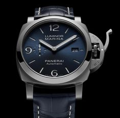*Blog Update - Read iN!* #Panerai 44mm Luminor Marina iN 2020 Ref#: PAM01313 * Sun-Brushed Blue Dial