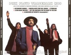 Long Island Pink Floyd Trademark Moo Bootleg cover from the April 11, 1971 concert at SUNY at Stony Brook, NY