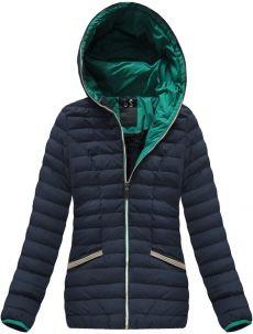 Tmavě modrá dámská zimní bunda (CX583W) Winter Jackets, Zip, Fashion, Winter Coats, Moda, Winter Vest Outfits, Fashion Styles, Fashion Illustrations