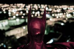 March 11, 2012. Retired Brazilian police officer Andre Luiz Pinheiro, 50, dressed as superhero Batman, poses for a picture in Taubate city in Sao Paulo. Pinheiro has been called to help police patrol the crime-ridden streets of Taubate