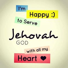 Jehovah's witnesses The only religion who really knows who God is! The almighty loving God Jehovah..