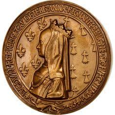 Louis XII ET Anne DE Bretagne Médaille