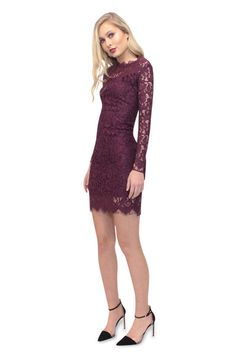 The Claret Lace Dress is your go-to for wedding guest attire. The colour is so…