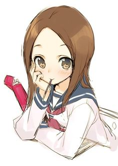 Karakai Jouzu no Takagi-san Anime Art Girl, Manga Girl, Manga Anime, Cute Kawaii Girl, Image Manga, Fanart, Love Illustration, Anime Sketch, Cute Wallpapers