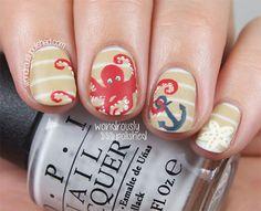summer+nail+art+designs+2015   18 Beach Nail Art Designs Ideas Trends Stickers 2015 Summer Nails 3 18 ...