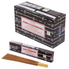Satya+Nag+Champa+Incense+Sticks+-+Aura+Cleansing+-+12+Packs