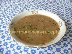 Čočková polévka se zeleninou Cheeseburger Chowder, Cantaloupe, Soup, Fruit, Recipes, Soups, Ripped Recipes, Cooking Recipes